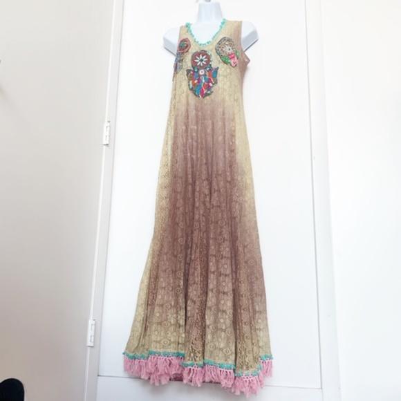 Antica Sartoria Dresses & Skirts - NWT Antica Sartoria Lace Boho Dress/Tunic/Coverup